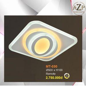 Đèn Ốp Trần Trang Trí LED Nhập Khẩu Dòng Cao Cấp 030 - Size Rộng 50 cm & Kèm Remote điều kiển từ xa