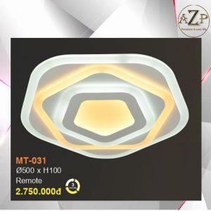 Đèn Ốp Trần Trang Trí LED Nhập Khẩu Dòng Cao Cấp 031- Size Rộng 50 cm & Kèm Remote điều kiển từ xa
