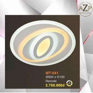Đèn Ốp Trần Trang Trí LED Nhập Khẩu Dòng Cao Cấp 041- Size Rộng 50 cm & Kèm Remote điều kiển từ xa