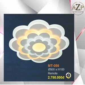 Đèn Ốp Trần Trang Trí LED Nhập Khẩu Dòng Cao Cấp 056 - Size Rộng 50 cm & Kèm Remote điều kiển từ xa