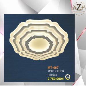 Đèn Ốp Trần Trang Trí LED Nhập Khẩu Dòng Cao Cấp 067 - Size Rộng 50 cm & Kèm Remote điều kiển từ xa